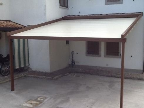 House pergola in manzano