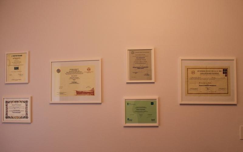 riconoscimenti dott.ssa Provenzano