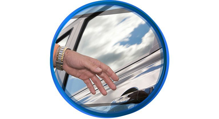 summerland window tinting car door