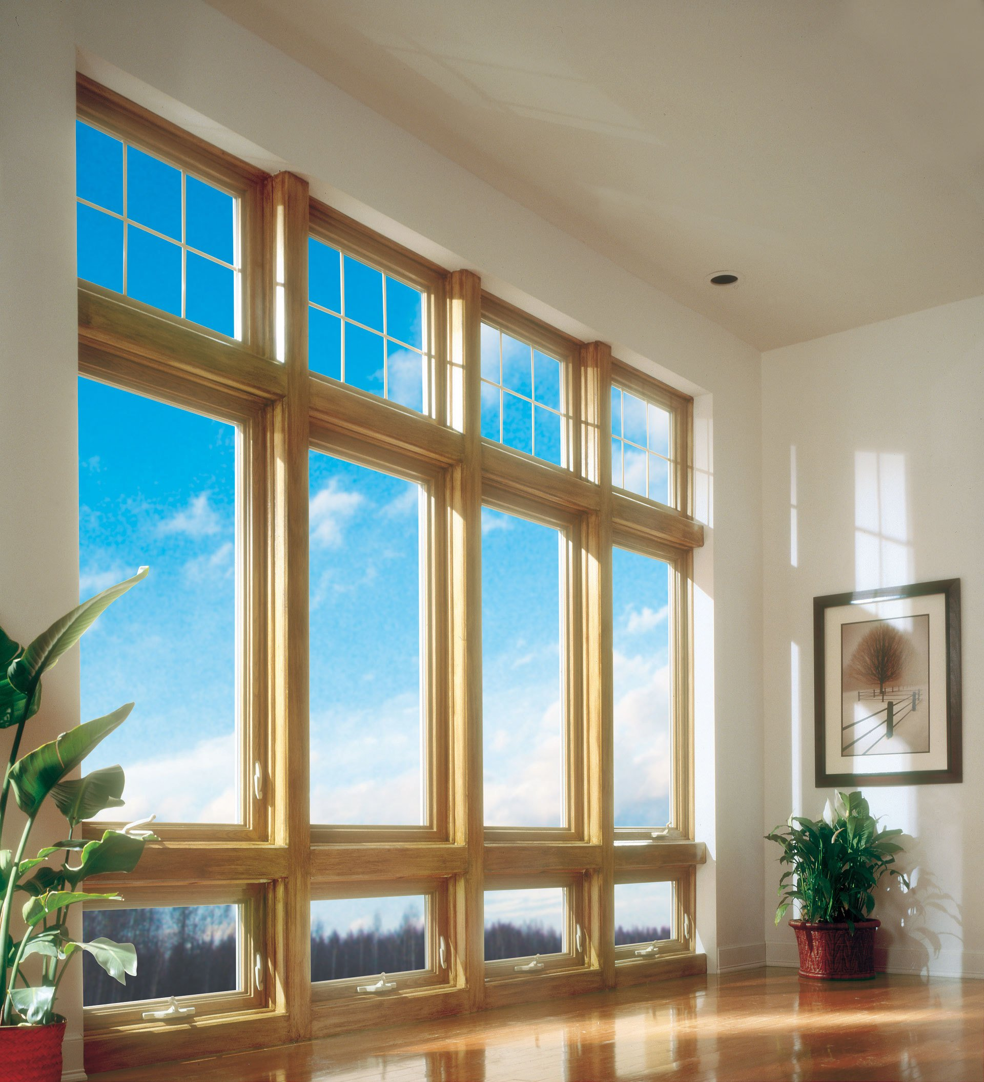 Vinyl replacement windows in cincinnati oh for Home window design pictures