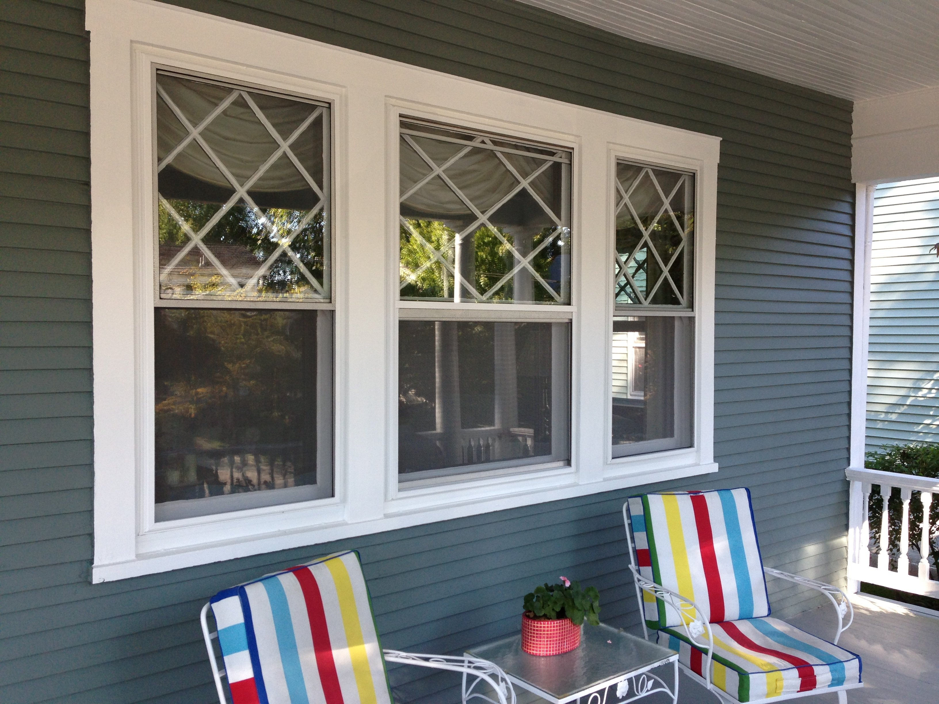 3-Lite Double Hung Windows