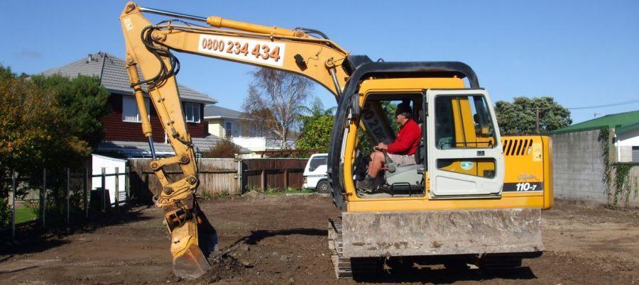 Excavation contractors in Hutt Valley