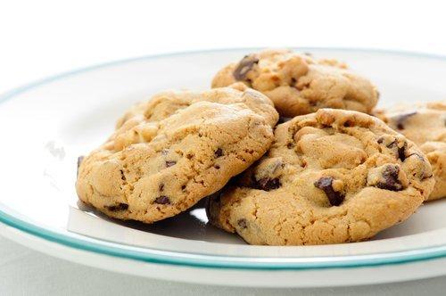 biscotti in un piatto