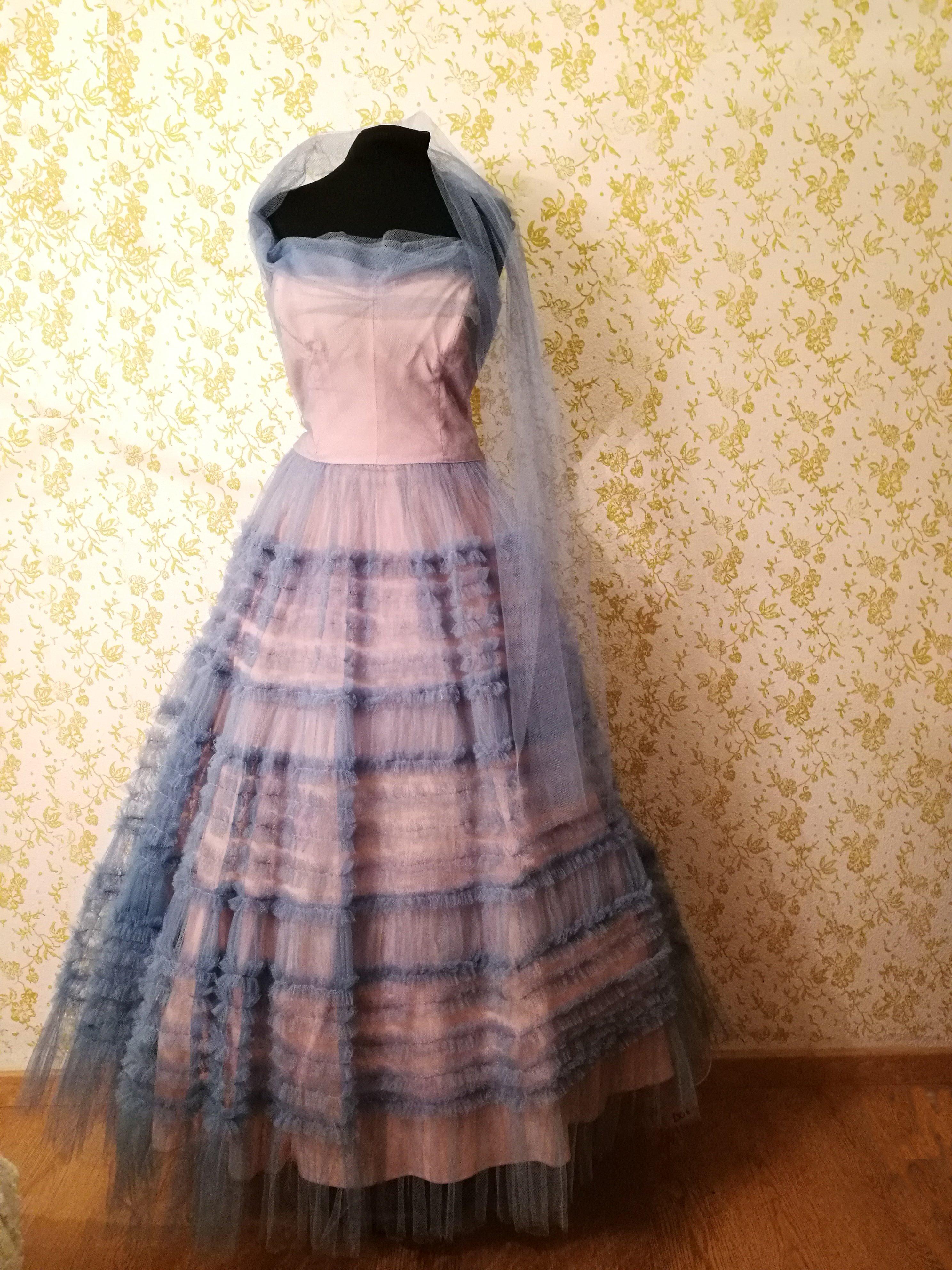 vestito sposa vintage colore rosa