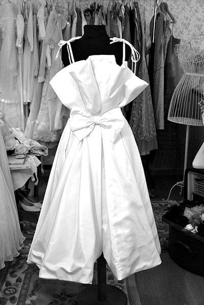abito da sposa vintage classico