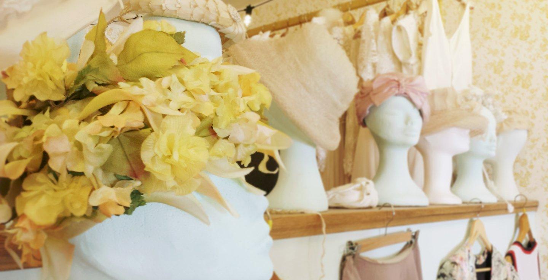 cappelli vintage floreali