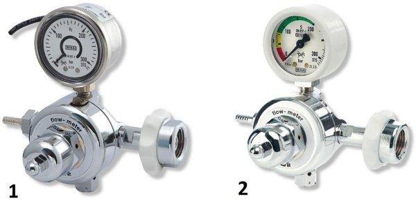 Riduttore di pressione per ossigeno medicale