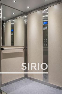 SIRIO lift cabin