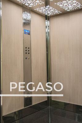 PEGASO lift cabin