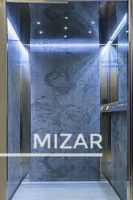 MIZAR lift cabin