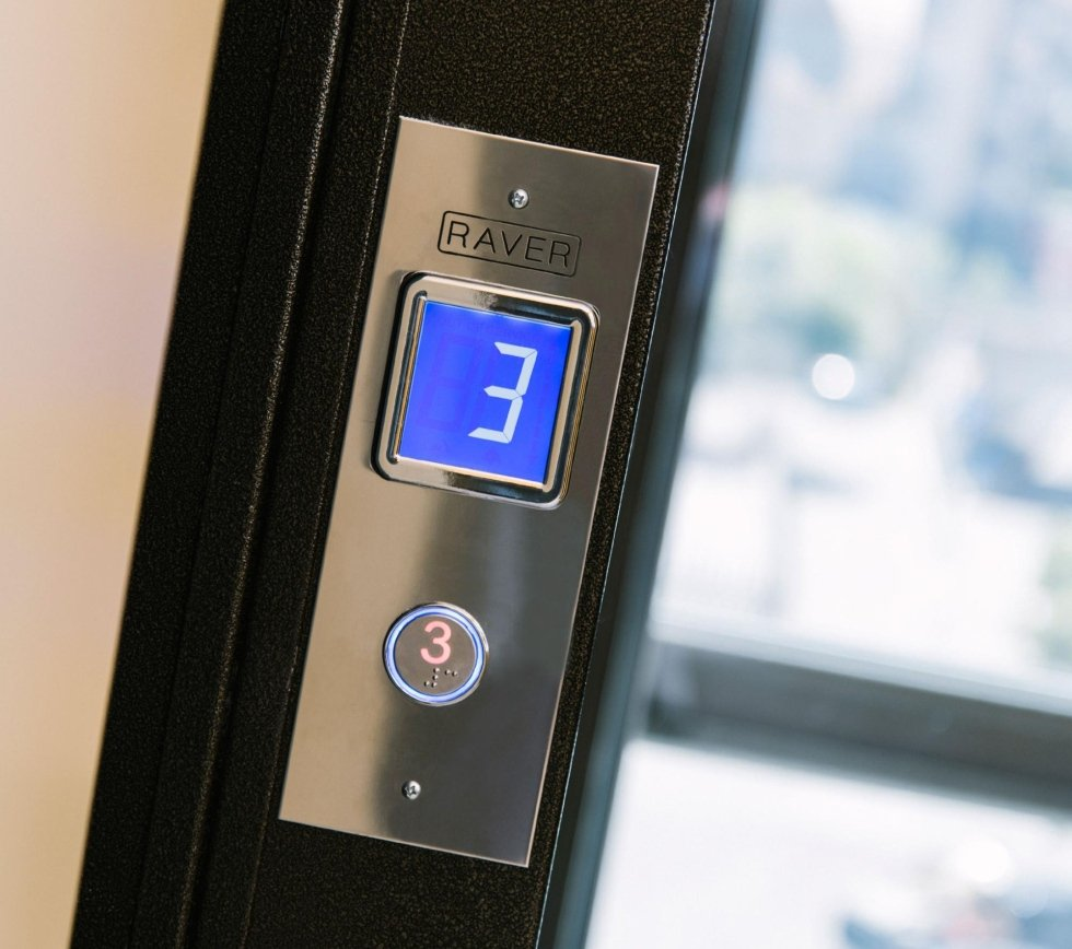 Display ascensore