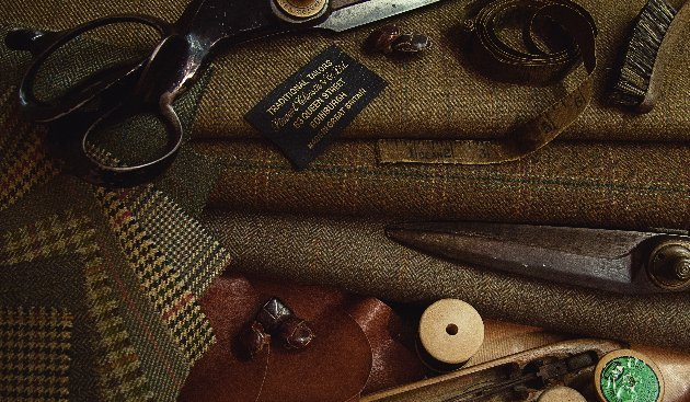 Estate Tweeds for tweed specialist Stewart Christie