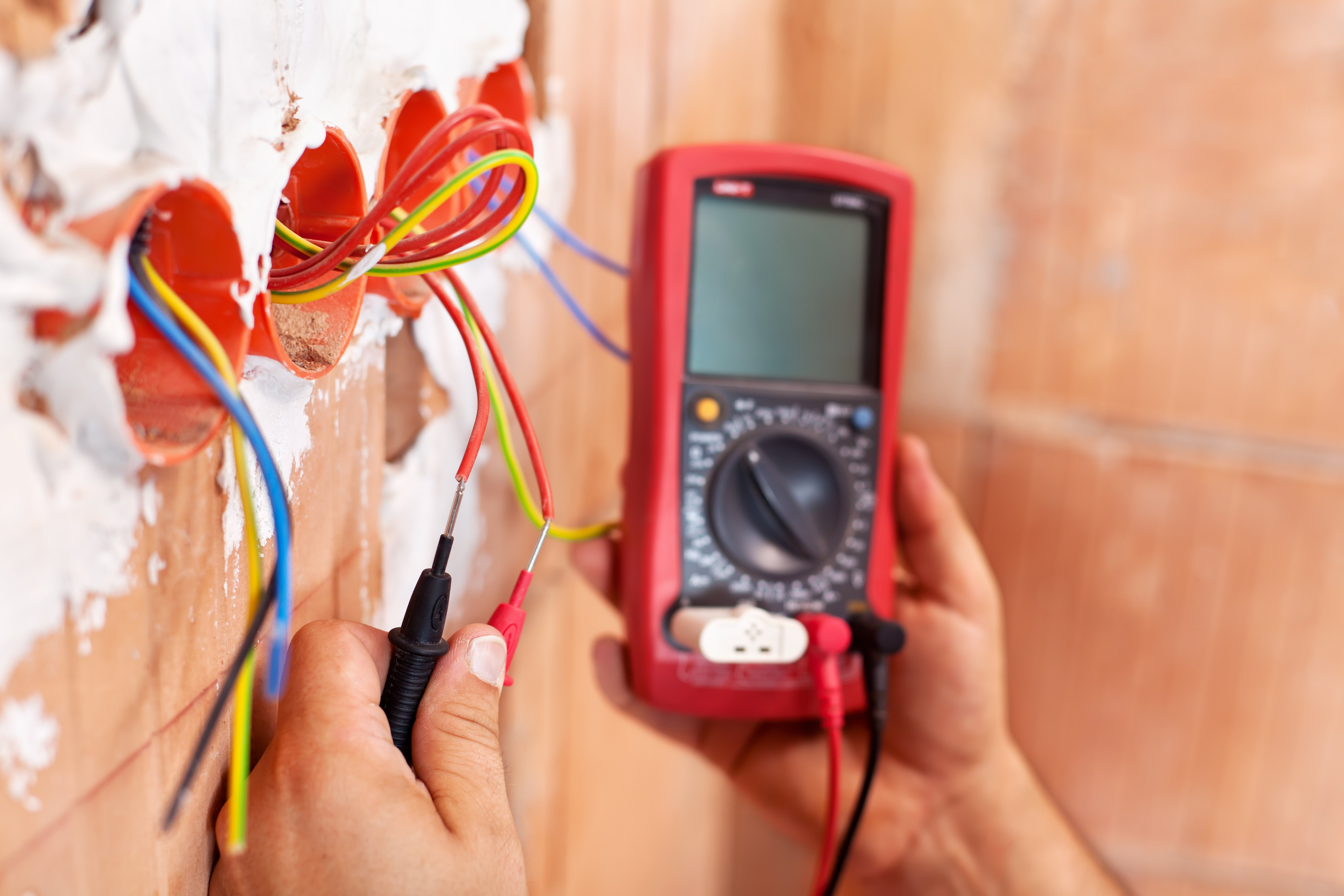 high standards of electrical work at T&T Electrical