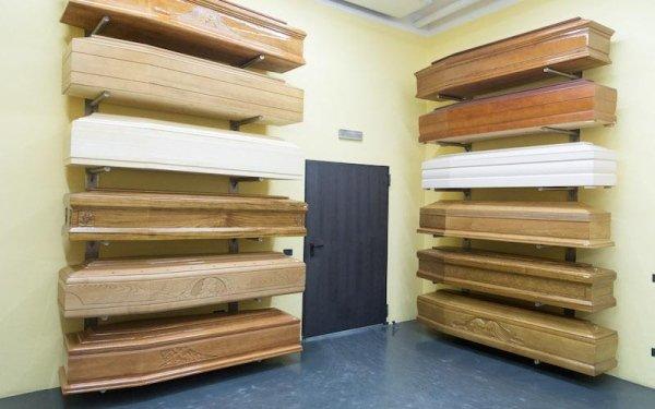 Esposizione cofani in legno