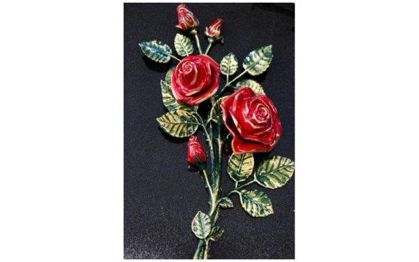 Decorazione rose rossec