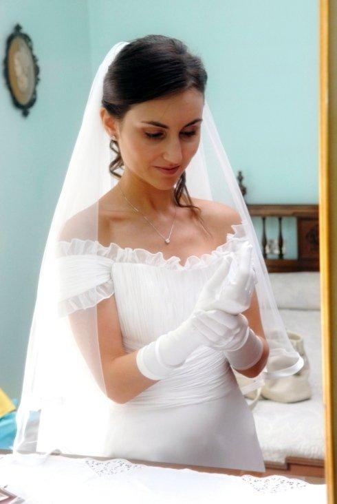 Foto ritratto sposa