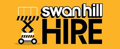 swan hill hire brand logo