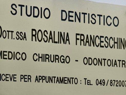 La Dott.ssa Franceschino riceve esclusivamente su appuntamento. Accedi alla pagina Contatti per fissarne uno.