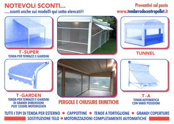tendarreda offerta sconti tende da sole