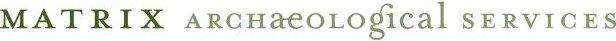Matrix Archaeological Services logo