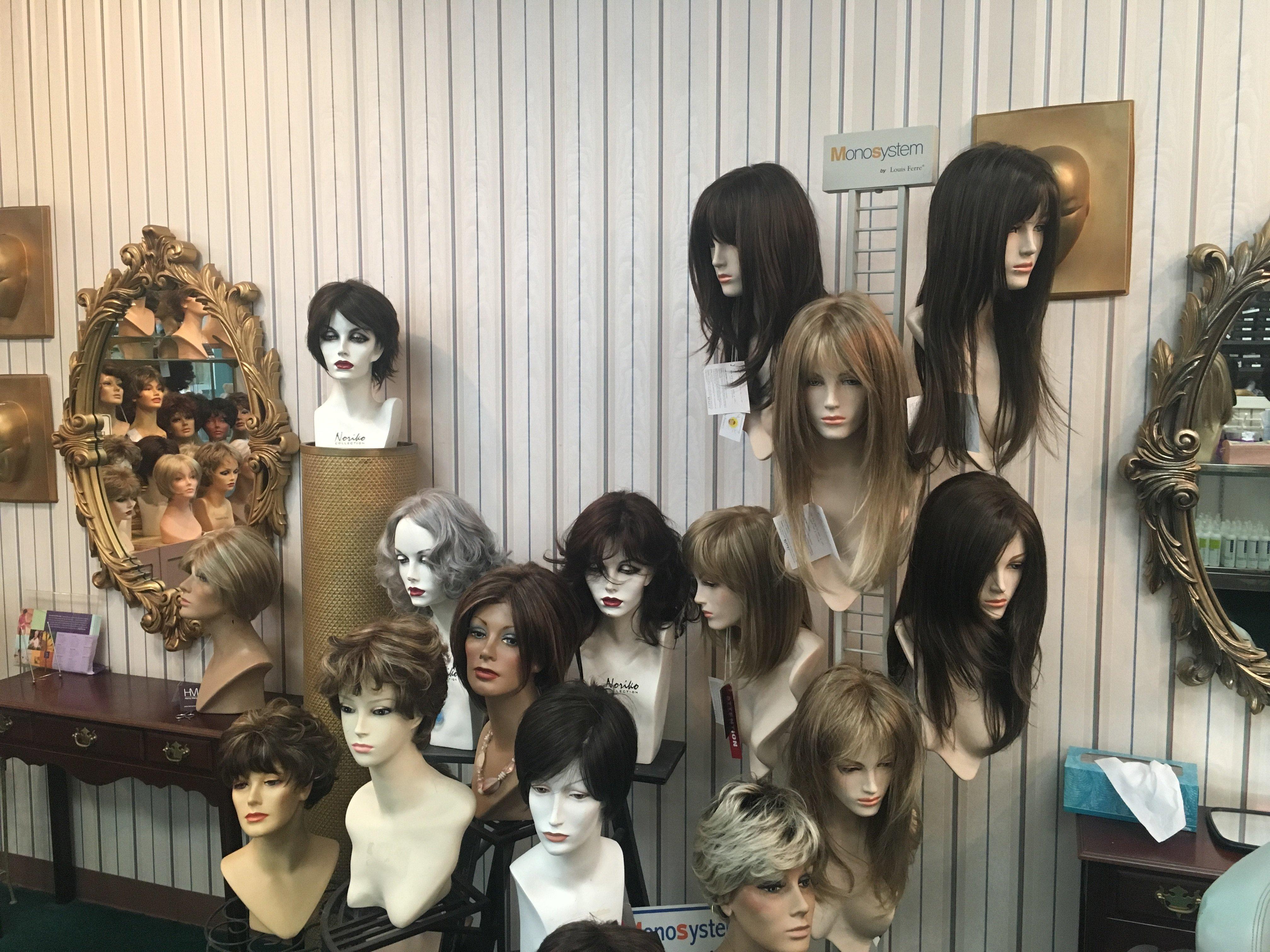monofilament wigs, synthetic wigs & lace front wigs   Houston, TX   Ann's Wig Salon