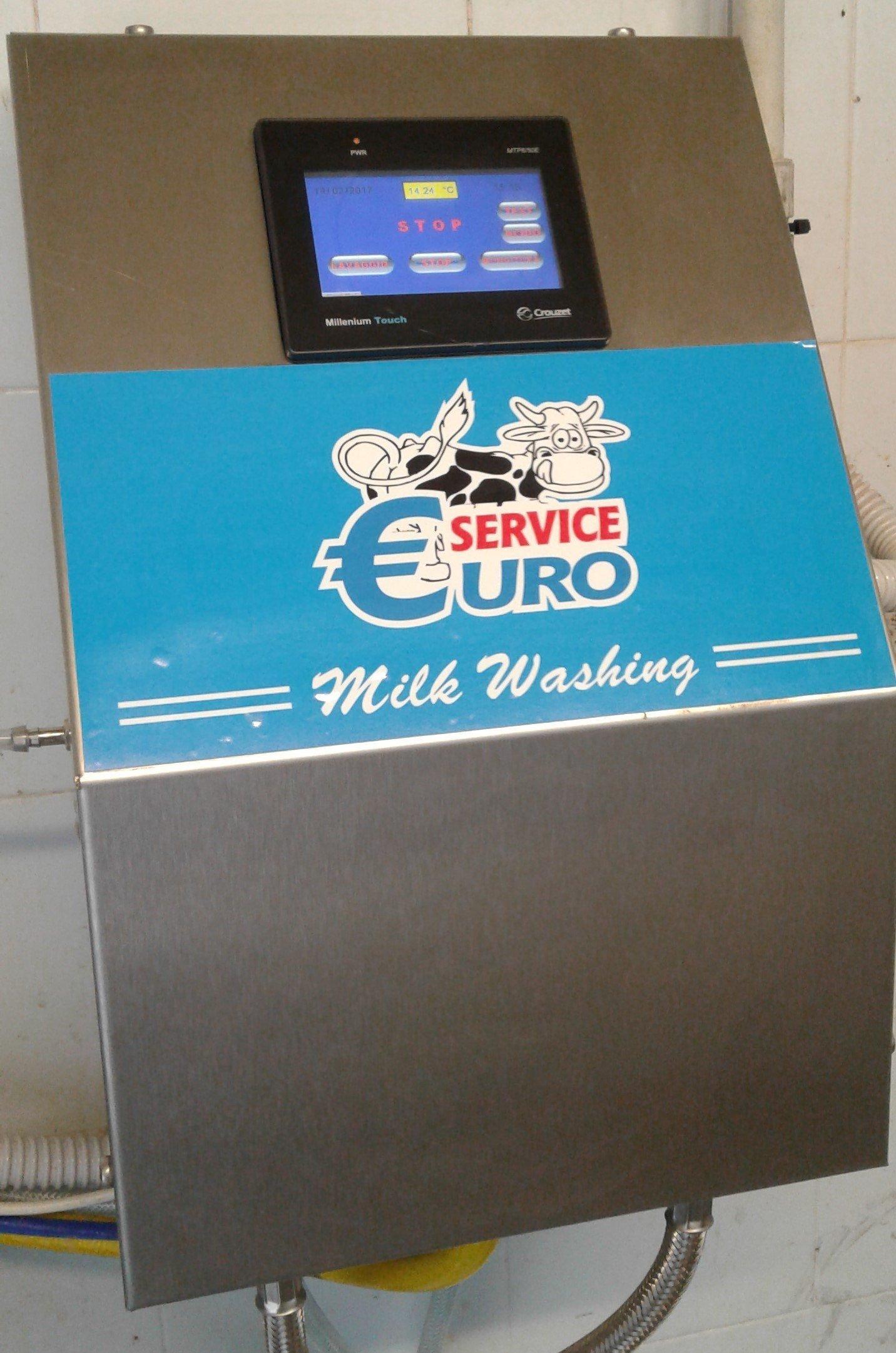 display macchinario mungitura