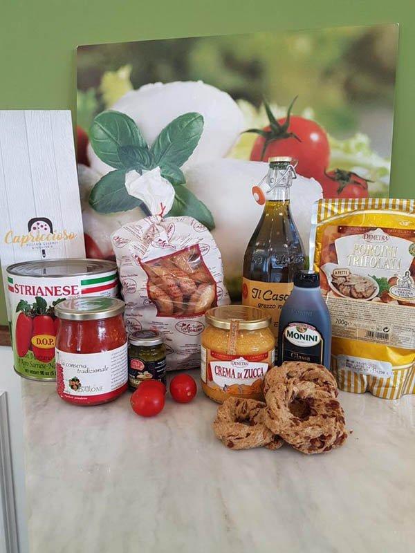 prodotti gourmet d'origine napoletana
