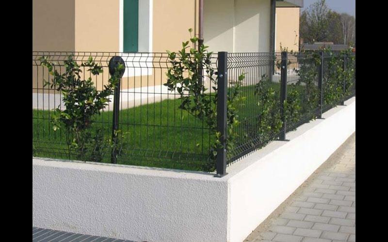 Recinzione giardini in rete elettrosaldata