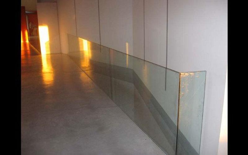 Balaustra in vetro