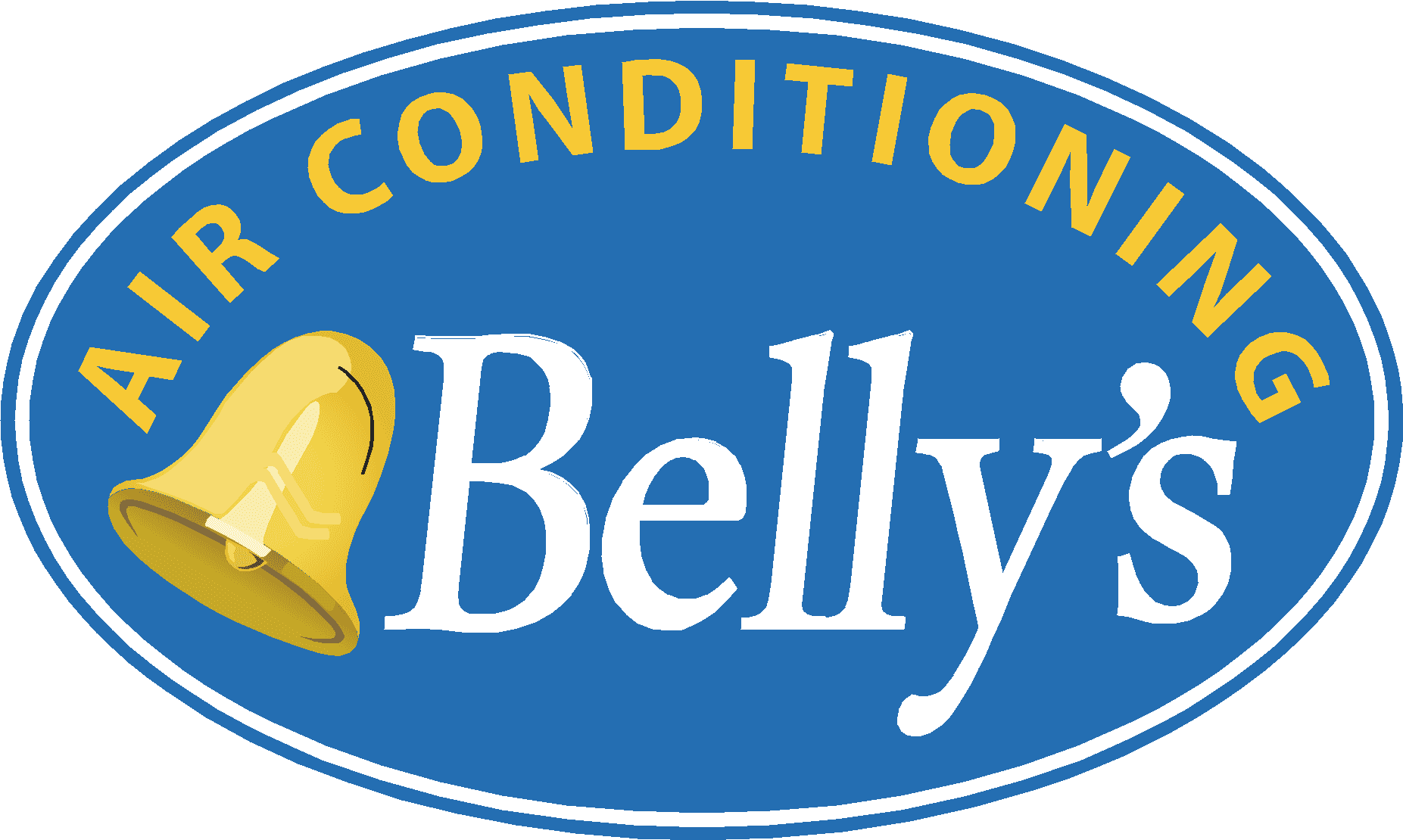 belly's air conditioning logo