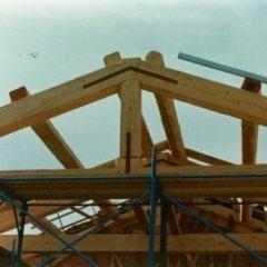 capriata copertura legno