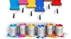 pitture ad acqua, pitture a solvente, vernici per muro