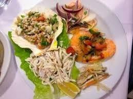 giro antipasti di pesce, antipasti di pesce a € 25