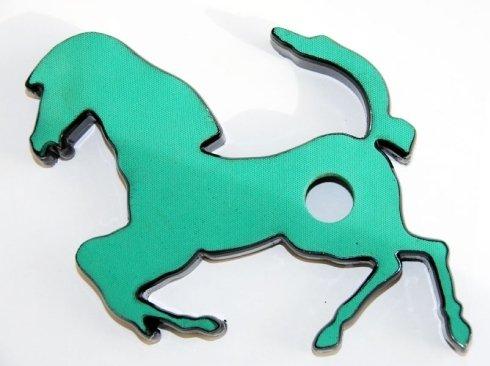 fustella a forma di cavallo