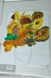 Van Gogh Workshop (7 yrs old)