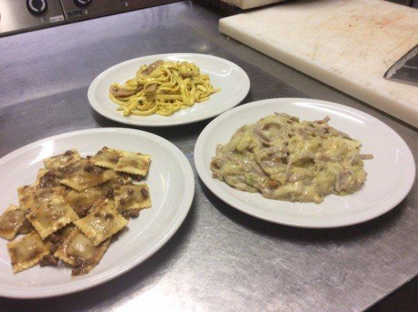 tre primi piatti