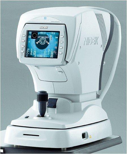 macchina per test della vista