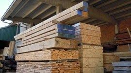 commercio legnami, legname da costruzione, travi lamellari