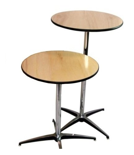 Prairie event supply seating supplies mingo ia for Cocktail tables parts