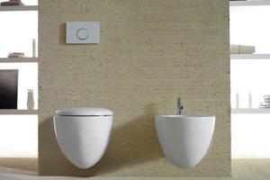 sanitari in un bagno