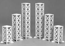 White Plant Stands