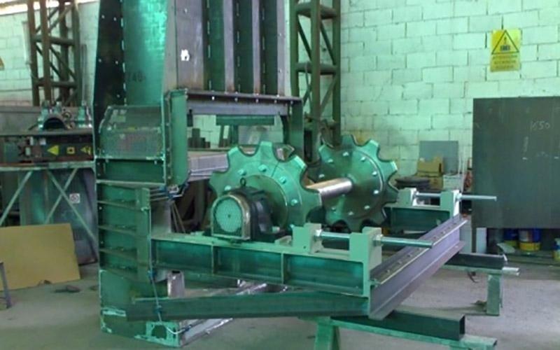Carpenteria di acciaio inox