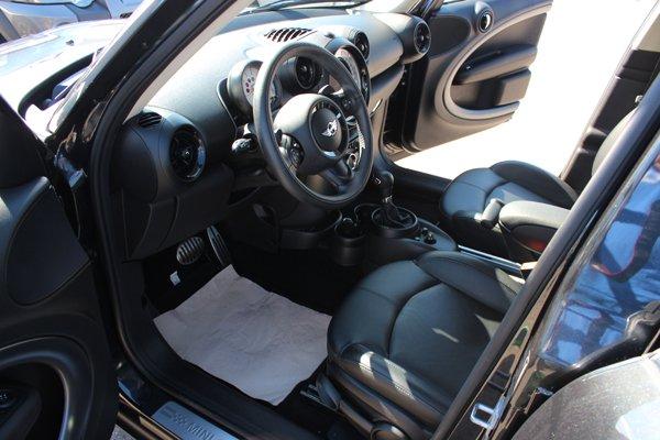 vista interna di un auto