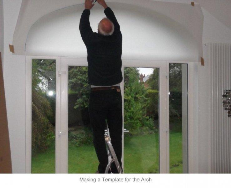 shutter installation