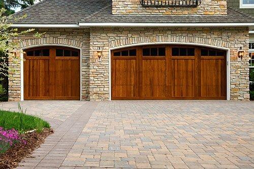 Family owned garage door