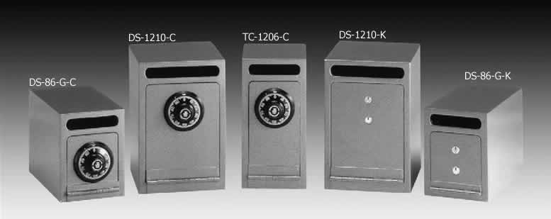 Gardall Drop Slot Depository Safes