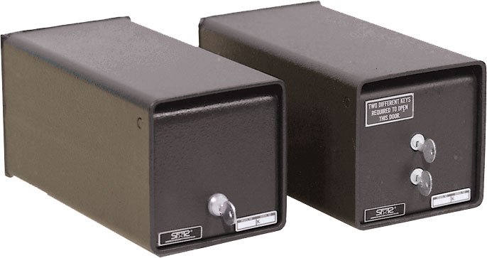 Amsec K1 and K2 Heavy Duty Under Counter Safes
