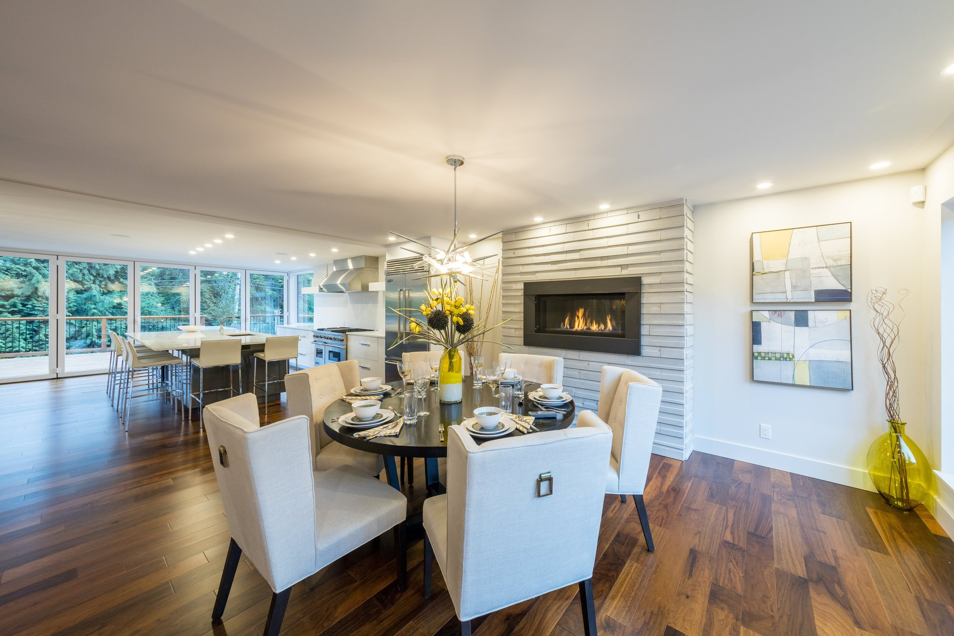 West Vancouver Kitchen Renovation Contracting Work Renovations Interior Design