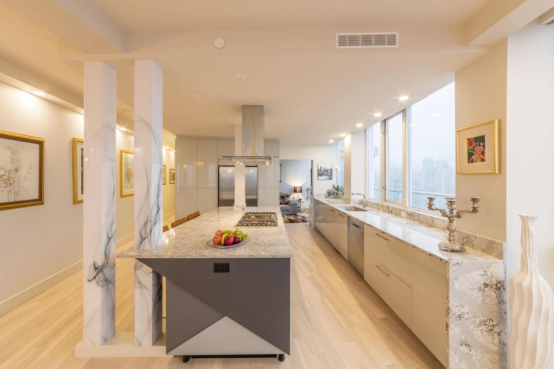 1201 marinaside yaletown vancouver kitchen design renovations. Black Bedroom Furniture Sets. Home Design Ideas
