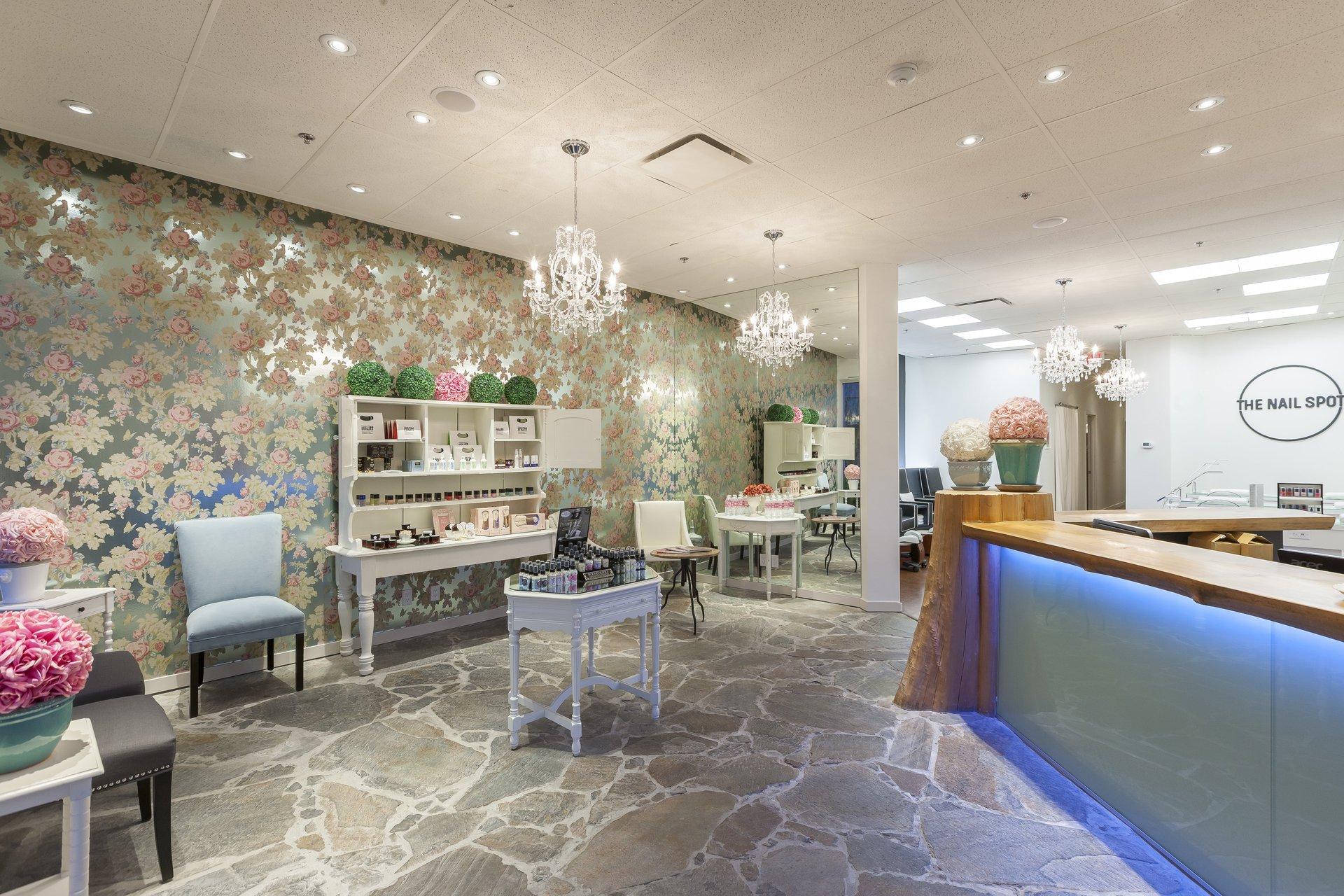 Vancouver Commercial Interior Design Nail Salon Interior Design Contractors